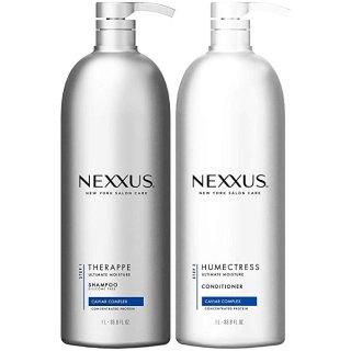 $29.92 高端美发品牌Nexxus 保湿洗发护发超值套装 1L