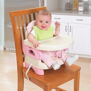 $12Summer Infant Deluxe Comfort Folding Booster Seat, Tan