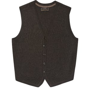 Reserve Collection Merino Wool Blend Button Front Sweater Vest CLEARANCE - Clearance Sweaters | Jos A Bank