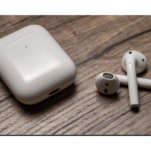 Apple AirPods 无线蓝牙耳机 2代最新版无线充电盒版 7.6折特价