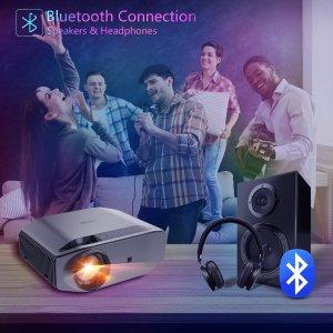 $294.09(原价$359.99)Artlii 专业WiFi投影仪 4K支持 兼容蓝牙/iOS/Android等多设备