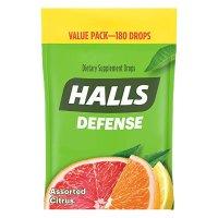 Halls 柑橘止咳润喉糖 180颗