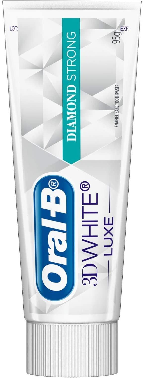 3D White Luxe Diamond Strong 牙膏