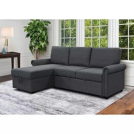 Hamilton 可扩展型布沙发床