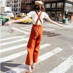 低至2.5折+额外7折 T恤白菜价10胖出头Urban Outfitters 美衣美鞋配饰促销热卖