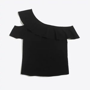 J.CrewOne-sleeve off-the-shoulder top : FactoryWomen Sleeveless | Factory