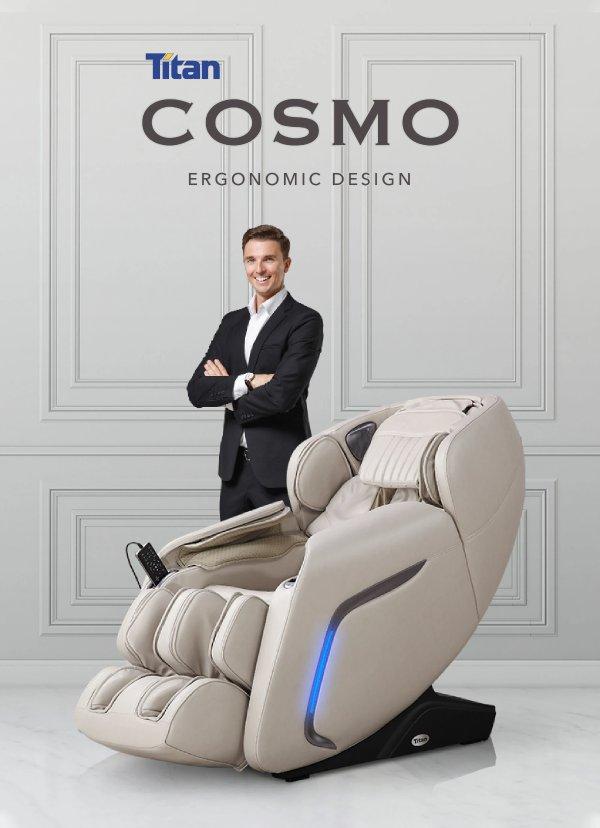 Titan 声控高级零重力按摩椅