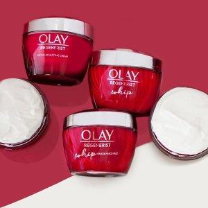 低至7折+ 免邮 可申请$15返现Olay 全场美妆护肤品大促 紫瓶面霜立减$10