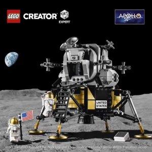 $139.99新品上市:LEGO新品 NASA阿波罗11号月球着陆器10266