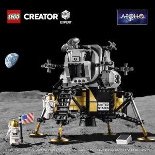 $99.99+三重赠品 六一新品上新:LEGO新品 NASA阿波罗11号月球着陆器10266