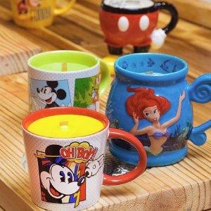 精选5折 £4.5入米奇&米妮爱心杯限今天:Disney英国官网动漫卡通马克杯大促