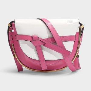 5折$1420+包税直邮中国补货:Loewe  Gate小号粉色,断货巨快