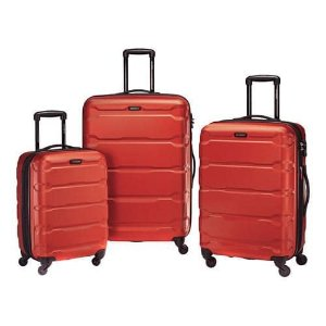 $206.82Samsonite Omni 20、24、28吋硬壳万向轮旅行箱三件套