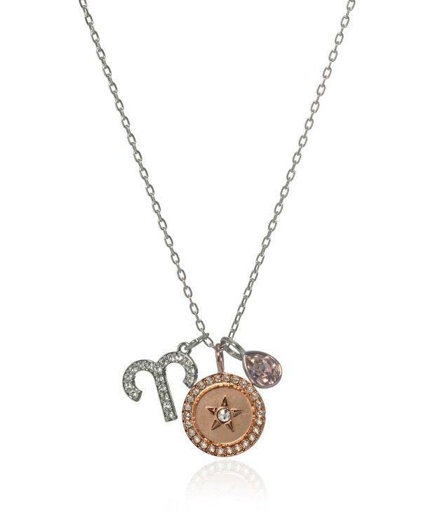 十二生肖水晶项链