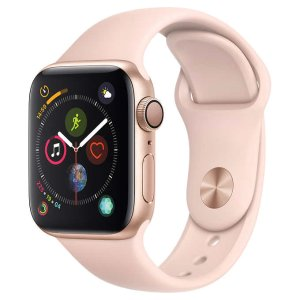 Apple Watch Series 4 44mm GPS with Pink Sand Sport Band