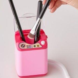 $13.99收气垫发梳UO 美妆小工具特卖 护肤品小冰箱 超Q美妆蛋洗衣机 染发3件套