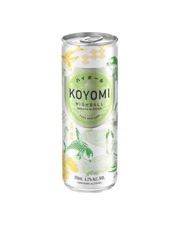 柚子烧酒 250mL*4