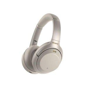 SonyWH-1000XM3 顶级无线降噪耳机 (银色)