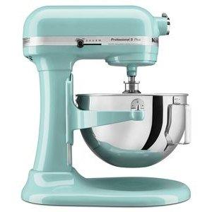 KitchenAidAqua Sky Professional 5™ Plus Series 5 Quart Bowl-Lift Stand Mixer KV25G0XAQ | KitchenAid