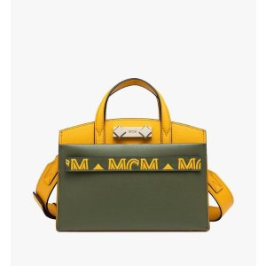 MCMMilano Tote Bag in Calfskin Leather
