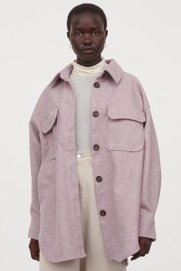 香芋紫大衣