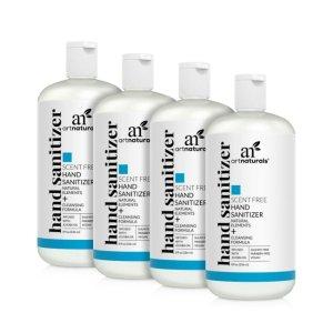 artnaturalsHand sanitizer scent free - 4 pack