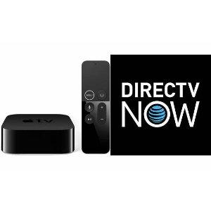 4K Apple TV + 4-Months Prepaid DIRECTV NOW