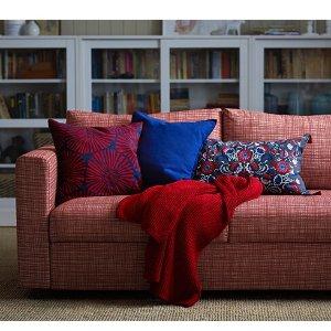 宜家沙发满400欧送50欧的优惠券,相当于8.75折