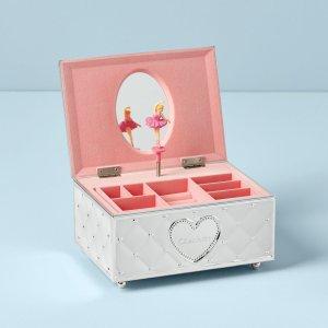Lenox Childhood Memories Musical Ballerina Jewelry Box