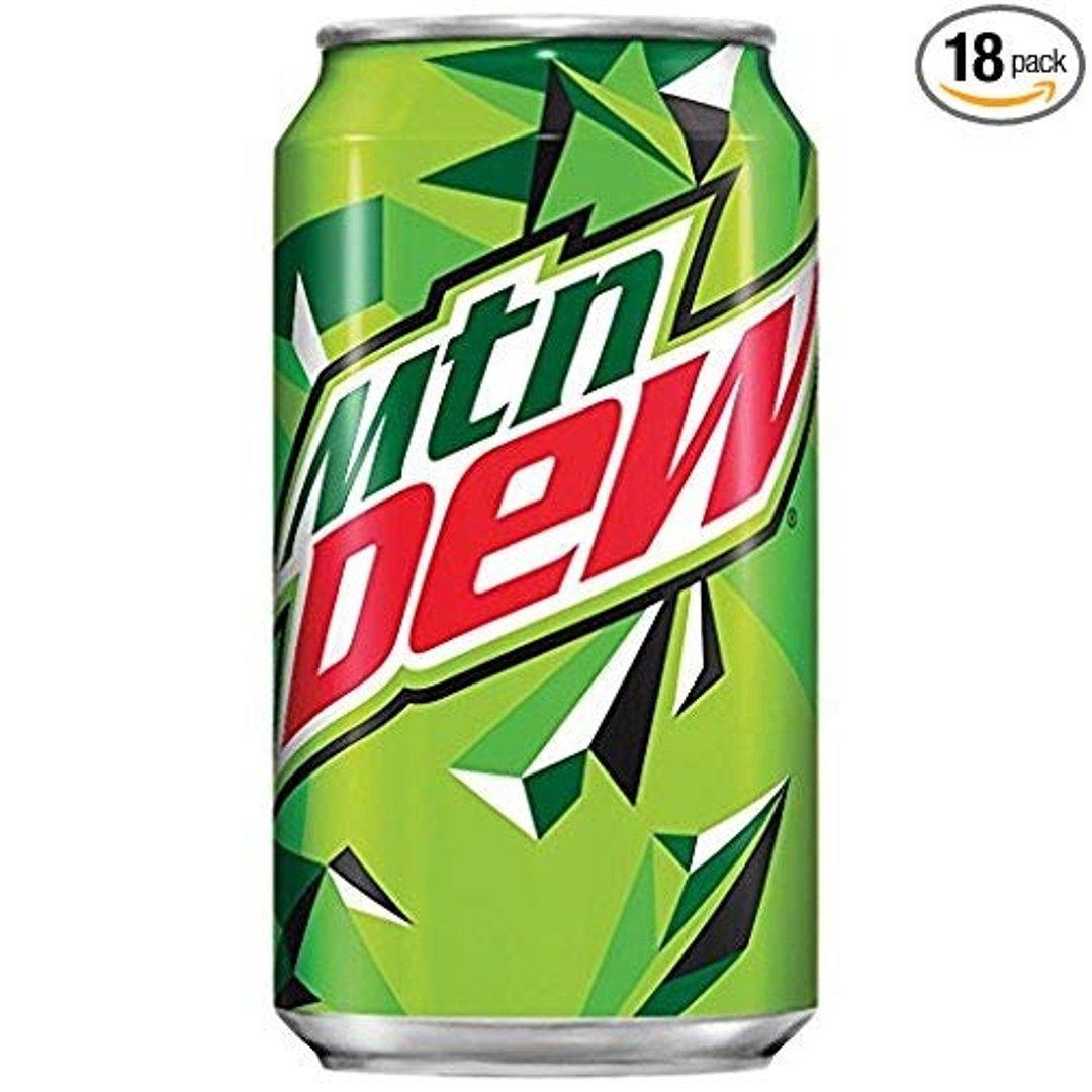 Mountain Dew 12 Oz 18罐