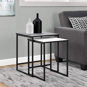$35.73Ameriwood Home 边桌2件套组合
