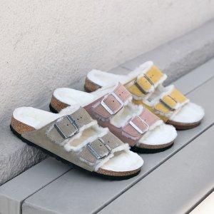 New ArrivalsBirkenstock Shearling Sandals