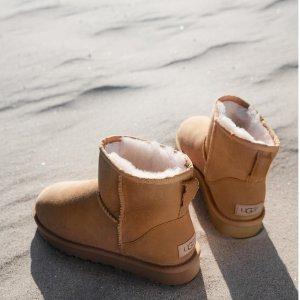 折扣区额外8.5折+免费直邮中国UGG全线78折,机会难得,该囤秋冬穿的雪地靴