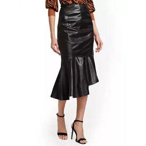 New York & CompanyFaux-Leather Skirt - New York & Company