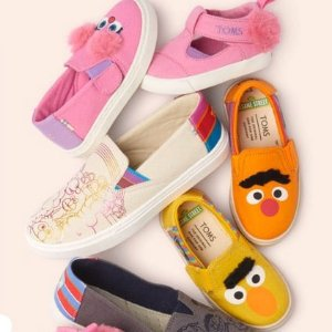 Extended: $10 Off & Free ShippingKids Shoes @ TOMS