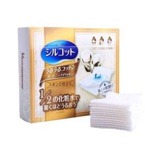 日本Unicharm 尤妮佳 1/2省水化妆棉 卸妆棉