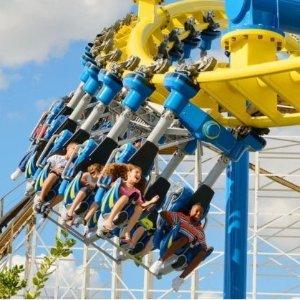 $44.95起 最高节省40%Fun Spot America 佛州趣味景点游乐园门票特卖