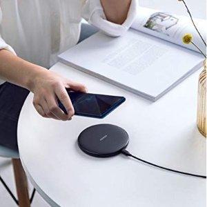 $22.99(原价$35.99)Anker  Qi无线充电板 10w 支持IPHONE 三星 LG等手机