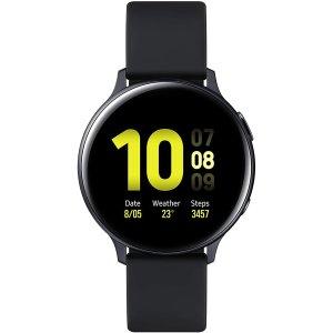 比二手还便宜!碳黑色 44mmSamsung Galaxy Watch Active2智能手表