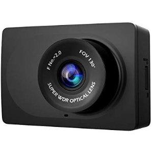 $24.99 (原价$39.99)小蚁 1080p 高清行车记录仪 带重力感应 夜间模式