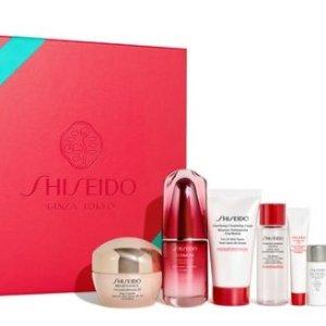 20% Off+Free Gift with Shiseido gift sets purchase @ Shiseido