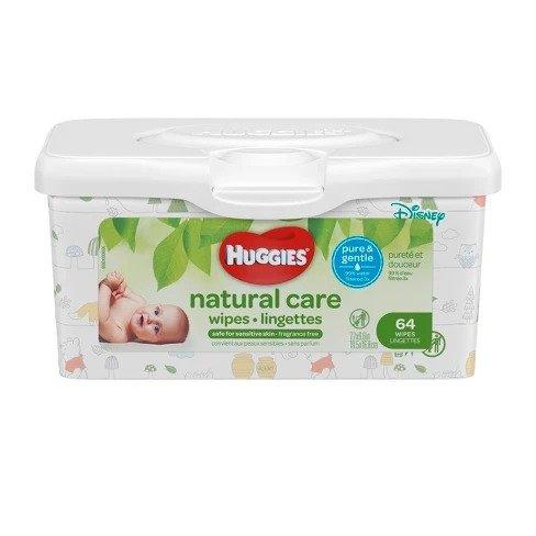 婴儿湿巾无香型,64抽