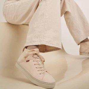 Levi's5折高帮帆布鞋