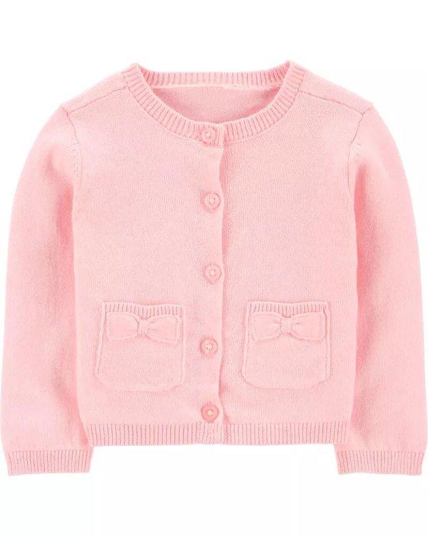 婴儿针织开衫