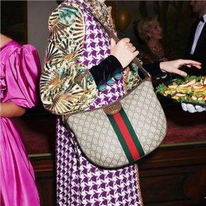 3折起+全场7.5折 Gucci双G链条包£847独家:Fabhunt 情人节给力折扣来袭 收Gucci、Prada、Valentino等大牌