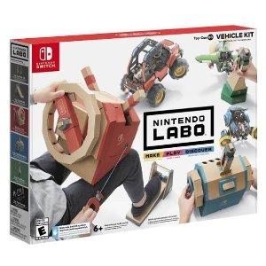 $5起Nintendo Switch Labo 多款套装特卖