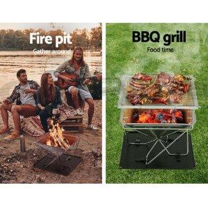 9.5折 野炊好帮手eBay 便携式烧烤炉大促 户外露营、花园BBQ必备