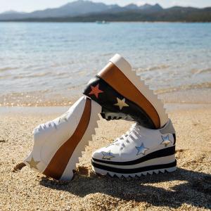 低至5折 £270入厚底鞋多色可选Stella McCartney官网 季末大促 收链条包、星星厚底鞋