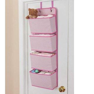 Delta Children 4 Pocket Over The Door Hanging Organizer