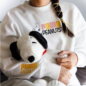 低至4.5折起+额外7折Puma X Peanuts 联名系列热卖 超萌史努比捡漏价